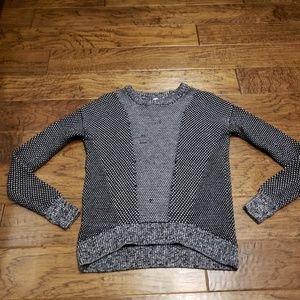 Lululemon Yogi Crewneck Merino Sweater Black Gray